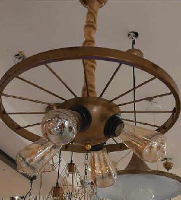 آویز رینگ دوچرخه بزرگ کد 1344