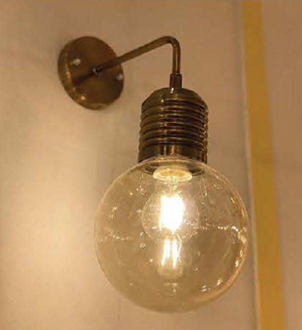 چراغ دیواری لامپی کد 666D