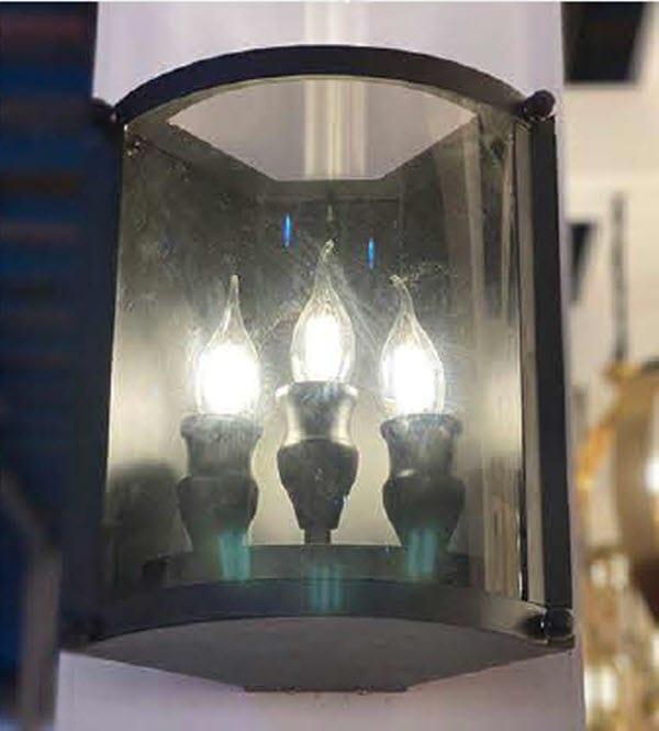 چراغ دیواری مدل گل کد 1432D